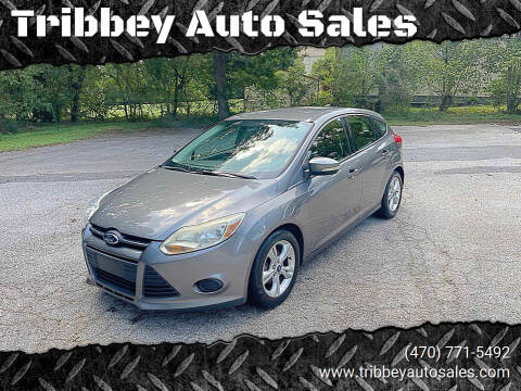 2013 Ford Focus for sale at Tribbey Auto Sales in Stockbridge GA
