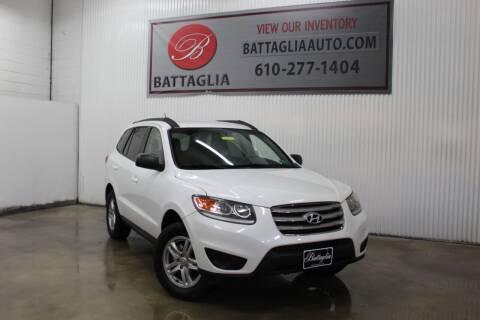 2012 Hyundai Santa Fe for sale at Battaglia Auto Sales in Plymouth Meeting PA