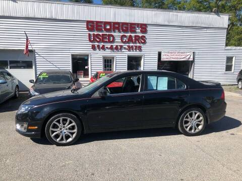 2012 Ford Fusion for sale at George's Used Cars Inc in Orbisonia PA