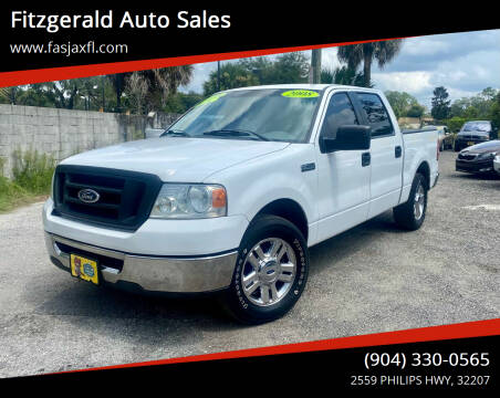 2008 Ford F-150 for sale at Fitzgerald Auto Sales in Jacksonville FL