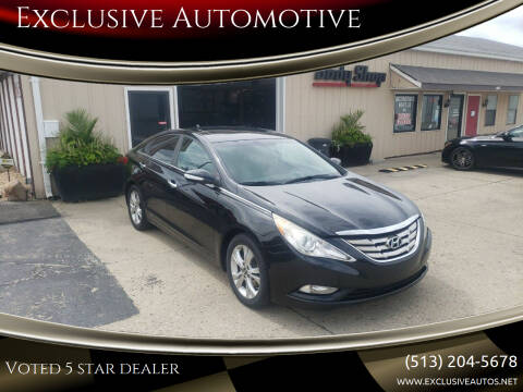 2011 Hyundai Sonata for sale at Exclusive Automotive in West Chester OH