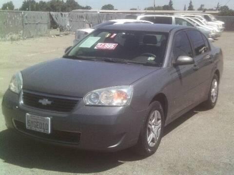 2007 Chevrolet Malibu for sale at Valley Auto Sales & Advanced Equipment in Stockton CA