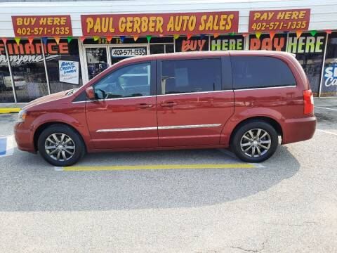 2015 Chrysler Town and Country for sale at Paul Gerber Auto Sales in Omaha NE
