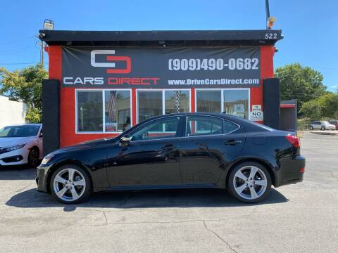 2012 Lexus IS 250 for sale at Cars Direct in Ontario CA