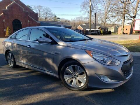 2014 Hyundai Sonata Hybrid for sale at McAdenville Motors in Gastonia NC