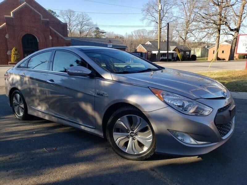 2014 Hyundai Sonata Hybrid for sale at McAdenville Motors in Gastonia NC