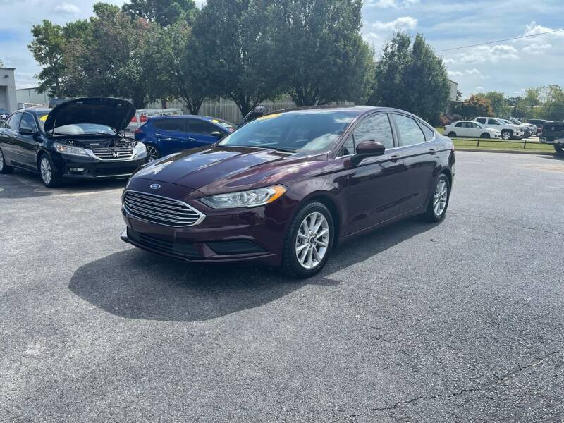2017 Ford Fusion for sale at Bagwell Motors in Lowell AR