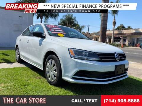 2016 Volkswagen Jetta for sale at The Car Store in Santa Ana CA