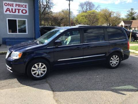 2016 Chrysler Town and Country for sale at One Price Auto in Mount Clemens MI