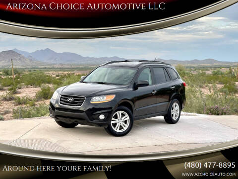 2011 Hyundai Santa Fe for sale at Arizona Choice Automotive LLC in Mesa AZ