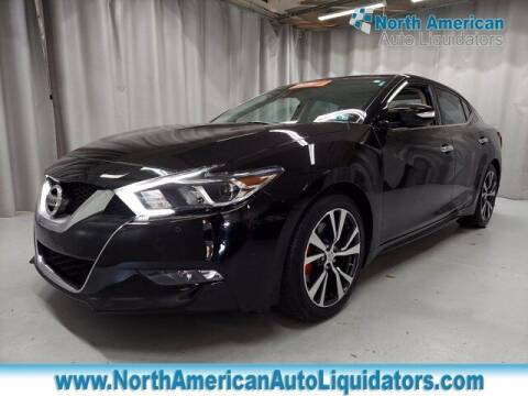 2017 Nissan Maxima for sale at North American Auto Liquidators in Essington PA