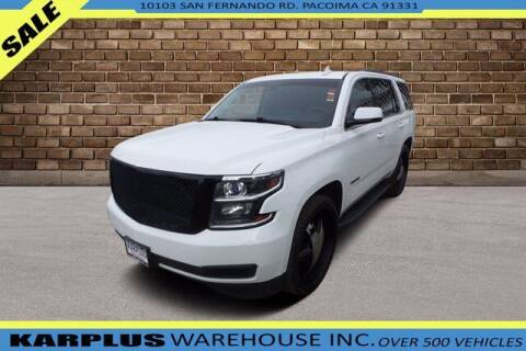 2016 Chevrolet Tahoe for sale at Karplus Warehouse in Pacoima CA