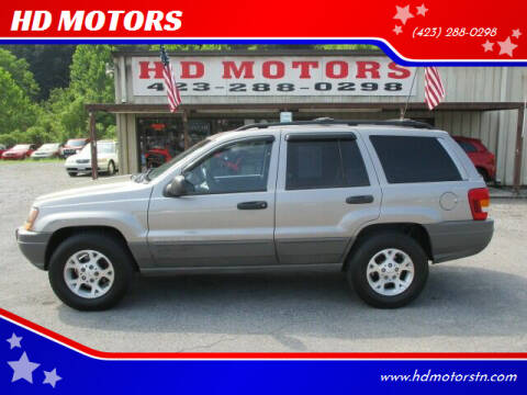 1999 Jeep Grand Cherokee for sale at HD MOTORS in Kingsport TN