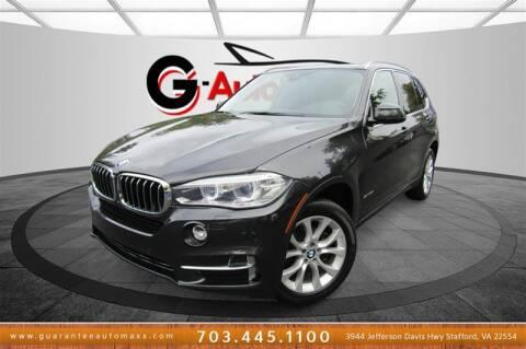 2014 BMW X5 for sale at Guarantee Automaxx in Stafford VA