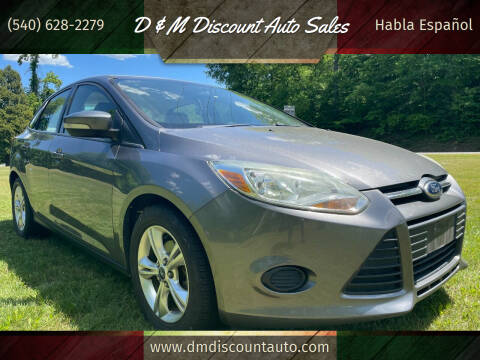2013 Ford Focus for sale at D & M Discount Auto Sales in Stafford VA