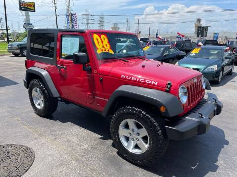 2008 Jeep Wrangler for sale at Texas 1 Auto Finance in Kemah TX