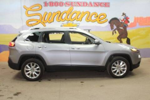 2015 Jeep Cherokee for sale at Sundance Chevrolet in Grand Ledge MI