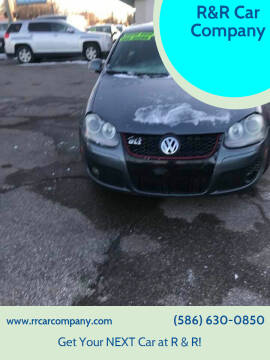 2008 Volkswagen GLI for sale at R&R Car Company in Mount Clemens MI