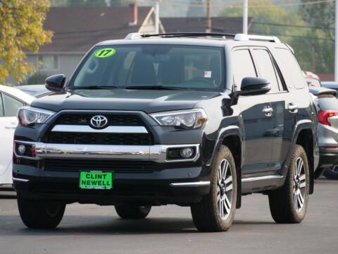 2017 Toyota 4Runner for sale at CLINT NEWELL USED CARS in Roseburg OR