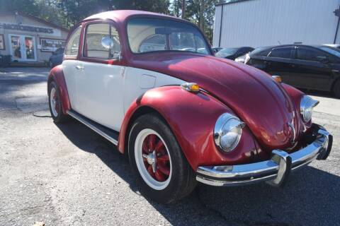 1969 Volkswagen BEETELE for sale at E-Motorworks in Roswell GA