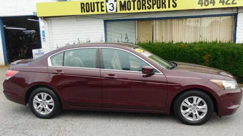 2009 Honda Accord for sale at Route 3 Motors in Broomall PA