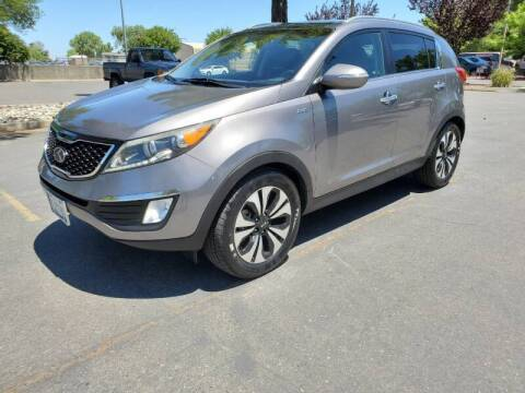 2012 Kia Sportage for sale at Matador Motors in Sacramento CA
