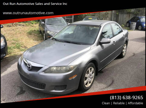 2006 Mazda MAZDA6 for sale at Out Run Automotive Sales and Service Inc in Tampa FL