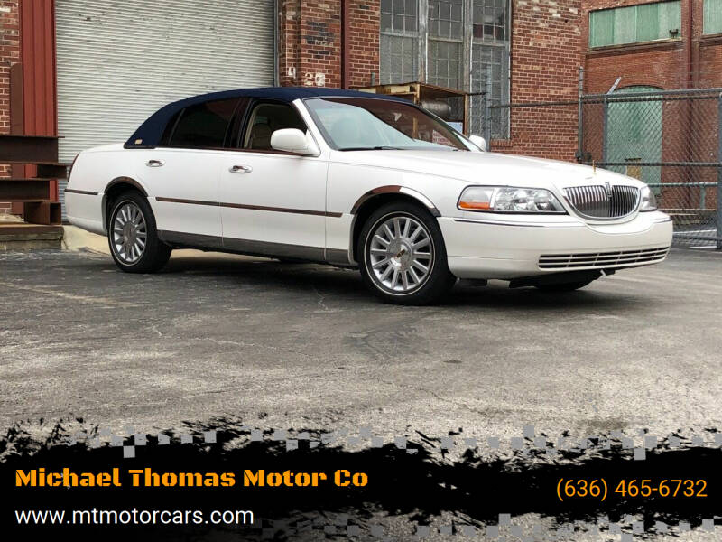 2003 Lincoln Town Car for sale at Michael Thomas Motor Co in Saint Charles MO