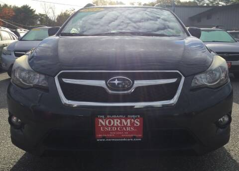 2014 Subaru XV Crosstrek for sale at Norm's Used Cars INC. in Wiscasset ME