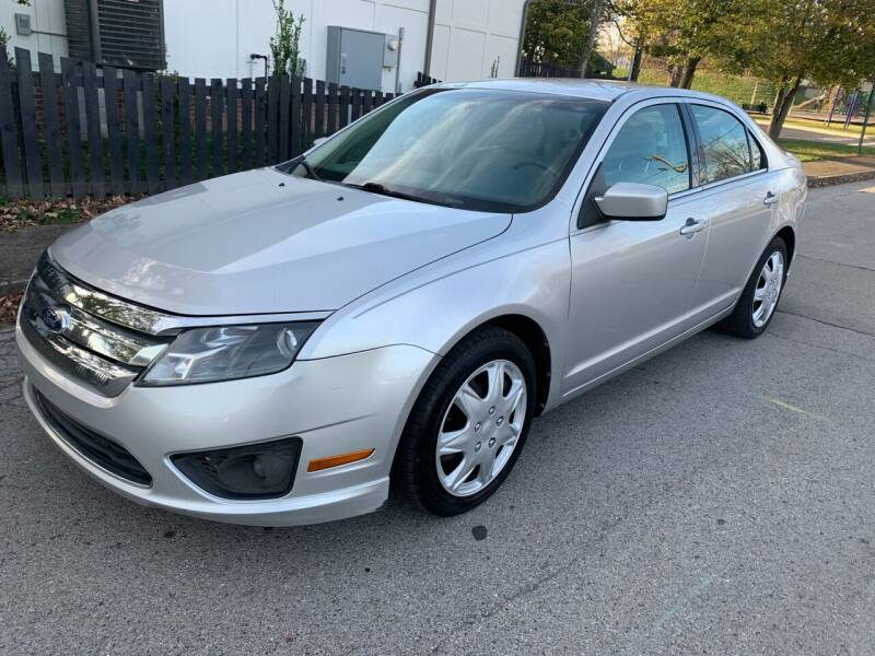 2011 Ford Fusion for sale at Eddies Auto Sales in Jeffersonville IN