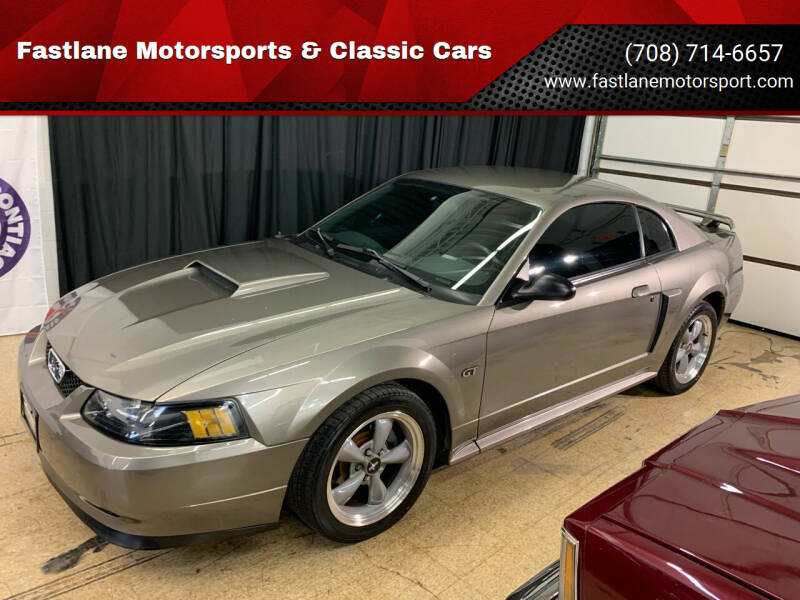 2002 Ford Mustang for sale at Fastlane Motorsports & Classic Cars in Addison IL