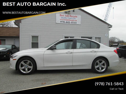2015 BMW 3 Series for sale at BEST AUTO BARGAIN inc. in Lowell MA