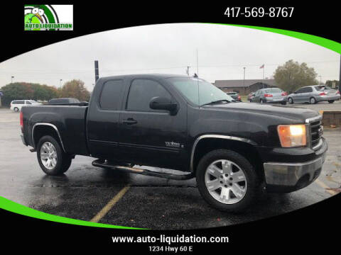 2008 GMC Sierra 1500 for sale at Auto Liquidation in Republic MO