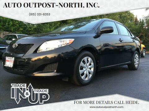 2010 Toyota Corolla for sale at Auto Outpost-North, Inc. in McHenry IL