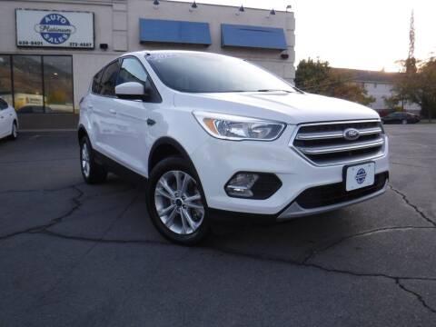 2017 Ford Escape for sale at Platinum Auto Sales in Provo UT