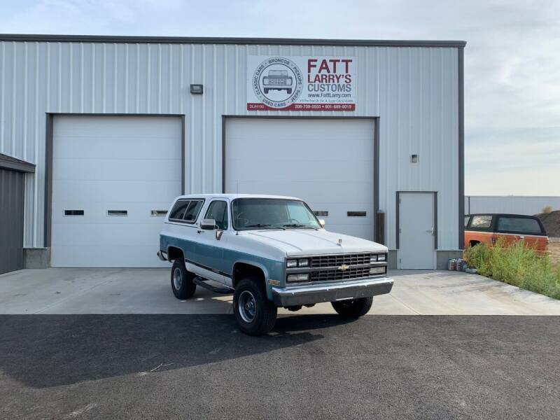 1989 Chevrolet Blazer for sale at Fatt Larry's Customs - Classics/Projects in Sugar City ID