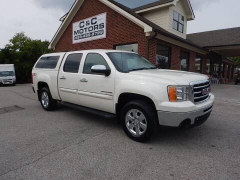 2012 GMC Sierra 1500 for sale at C & C MOTORS in Chattanooga TN