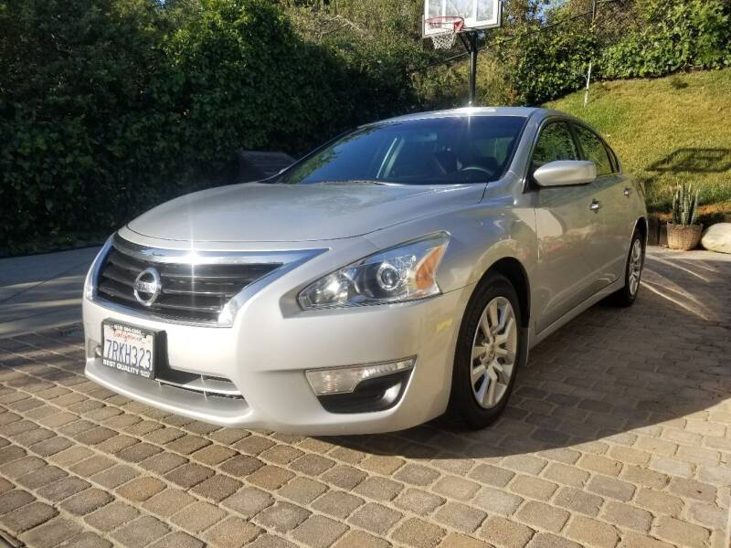 2015 Nissan Altima for sale at Best Quality Auto Sales in Sun Valley CA
