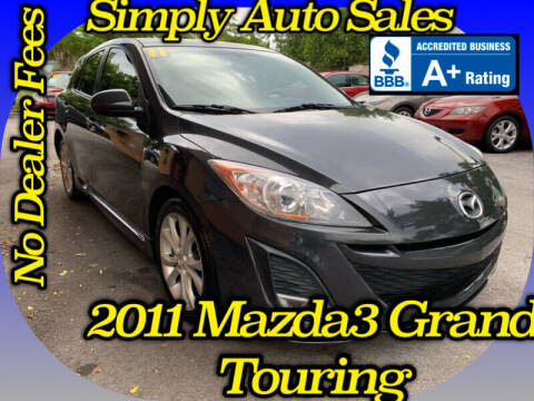 2011 Mazda MAZDA3 for sale at Simply Auto Sales in Palm Beach Gardens FL