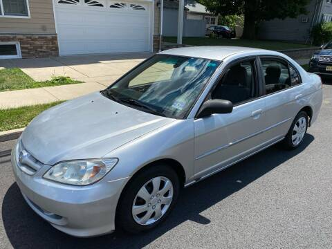 2005 Honda Civic for sale at Jordan Auto Group in Paterson NJ