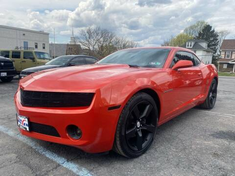 2011 Chevrolet Camaro for sale at 1NCE DRIVEN in Easton PA