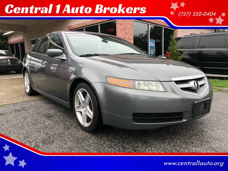 2006 Acura TL for sale at Central 1 Auto Brokers in Virginia Beach VA