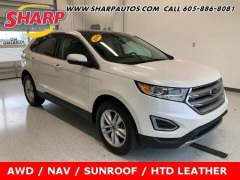 2016 Ford Edge for sale at Sharp Automotive in Watertown SD
