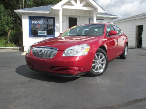2008 Buick Lucerne for sale at Blue Arrow Motors in Coal City IL