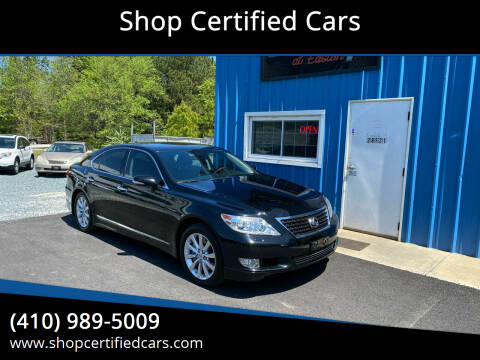 2010 Lexus LS 460 for sale at Shop Certified Cars in Easton MD