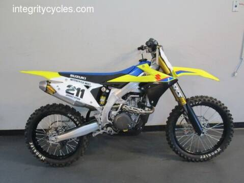 2019 Suzuki RMZ 450 for sale at INTEGRITY CYCLES LLC in Columbus OH