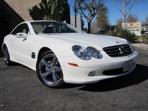 2006 Mercedes-Benz SL-Class for sale at ORANGE COUNTY AUTO WHOLESALE in Irvine CA