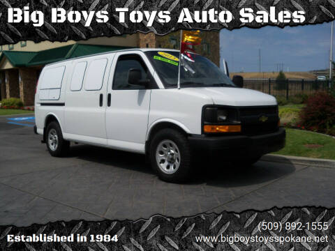 2013 Chevrolet Express Cargo for sale at Big Boys Toys Auto Sales in Spokane Valley WA