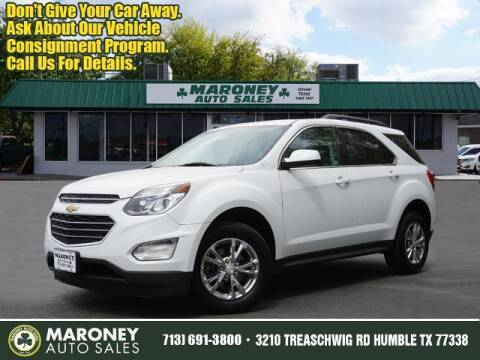 2016 Chevrolet Equinox for sale at Maroney Auto Sales in Humble TX