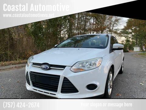 2013 Ford Focus for sale at Coastal Automotive in Virginia Beach VA